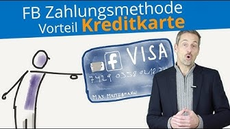 ► Facebook Zahlungsmethode für Facebook Werbung einrichten | Vorteil Kreditkarte 👀