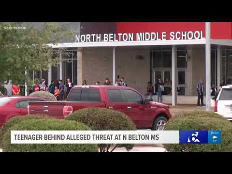 Teenager behind alleged threat at North Belton Middle School