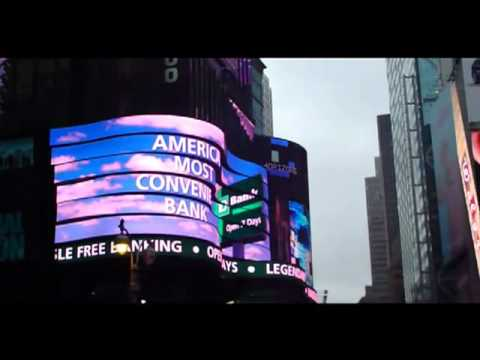 New York Times Square LCD LED display United States of America
