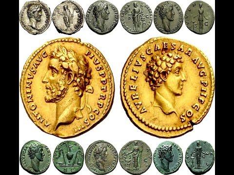 ✅Монеты Древнего Рима, АНТОНИН ПИЙ, Часть 2, Coins Of Ancient Rome, Antoninus Pius👍