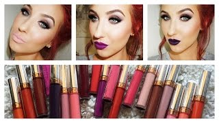 Anastasia Of Beverly Hills Liquid Lipstick Lip Swatches & Review | Jaclyn Hill