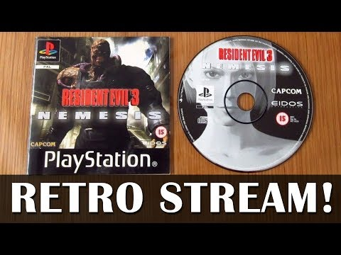 Let's Play Resident Evil 3 Nemesis on original hardware - Live PS1 gameplay!