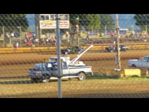 TZR #74 heat race 7-29-17 Sunset Speedway