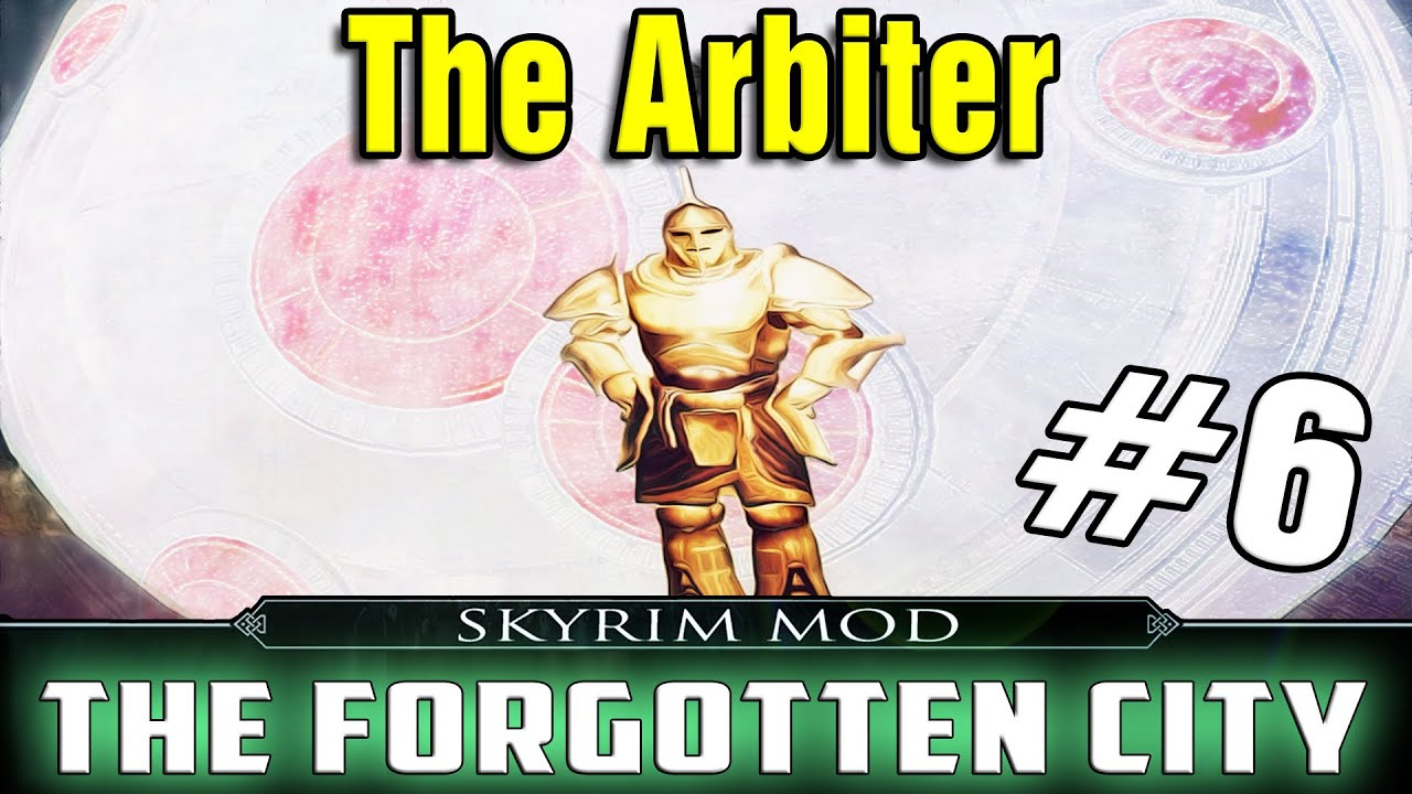 Skyrim Mod The Forgotten City Part 6 - The Arbiter