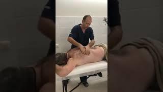 Восточный массаж задней поверхности тела