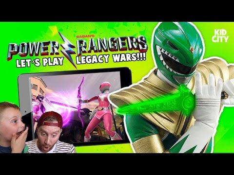 Let's Play Power Rangers Legacy Wars Game: Unlocking Green Power Ranger!