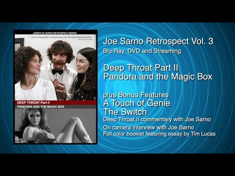 Joe Sarno Retrospect Vol. 3 Deep Throat Part II Collection