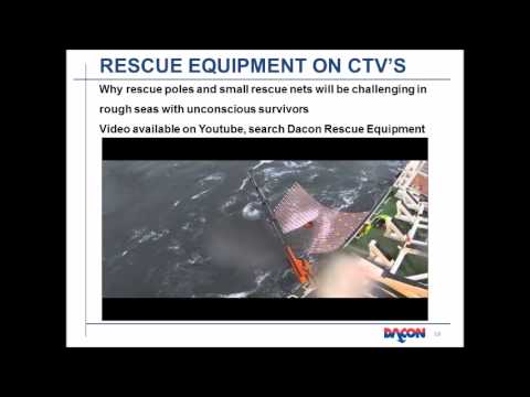 Man overboard rescue in Offshore Wind projects presentation