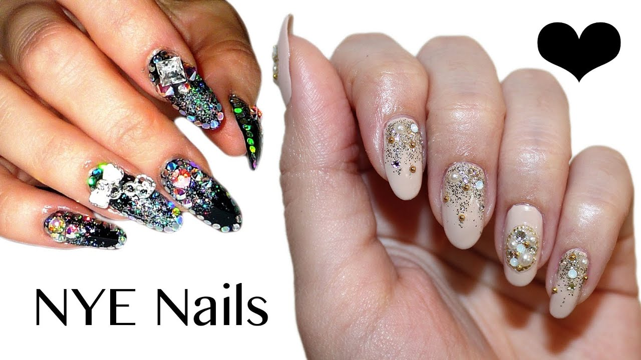New years eve nails collab with annas nail art beauty new years eve nails collab with annas nail art beauty travel youtube prinsesfo Gallery