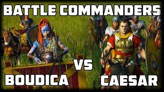 BATTLE COMMANDERS - Pilot Episode - Boudica v Julius Caesar (Rome 2)