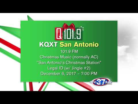KQXTFM 1019 Q1019 Christmas Top of Hour TOH IDs 1262017