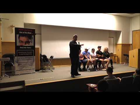 Hypnotist Mark Zacharia at Gwynedd Mercy University August 31, 2017