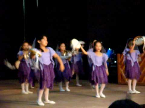 Tambourine dance of praise with the XJ kids - YouTube