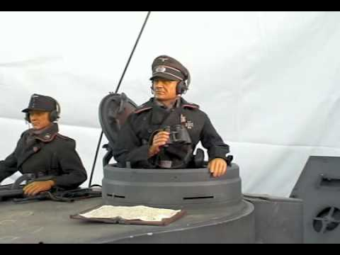 ANIMATRONIC - 1/6th Scale Tiger Tank Commander - YouTube
