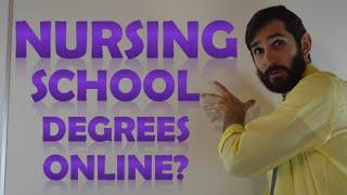 Nursing School Online Degrees | Online Classes for Nursing School
