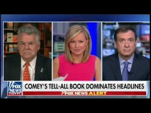 """Rep. King: Comey Trying To Win Favor With Clinton Camp By """"Bragging"""" His Family Supported Clinton"""