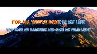 Thank You Lord - Karaoke by Gendusa