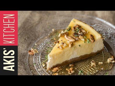 Greek Yogurt Cheesecake | Akis Petretzikis Kitchen
