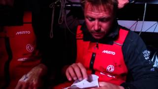 Dongfeng Race Team | Round Britain and Ireland (Day 3 A gruesome hand)