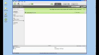 Peer-toPeer File Sharing Using LimeWire(GNUTELLA protocol)-UET-07CSE-TEAM HOMES.avi