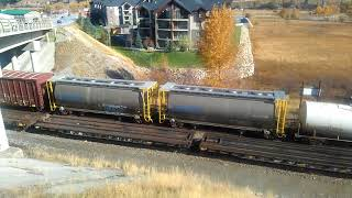 An empties unit flies past the local in Invermere thumbnail