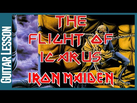 Flight Of Icarus By Iron Maiden - Guitar Lesson Tutorial