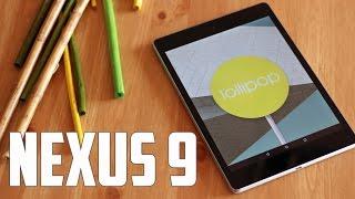 Google Nexus 9, Review en español