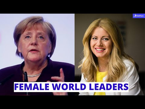 10 Women Currently Serving as Presidents of Countries - Female World Leaders
