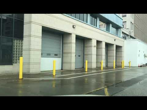 Summer Drive To Windsor, Ontario, Canada From Detroit, Michigan, U.S.A. Through Underwater Tunnel