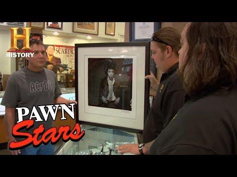 Pawn Stars: Jimi Hendrix Portrait by Gered Mankowitz  History