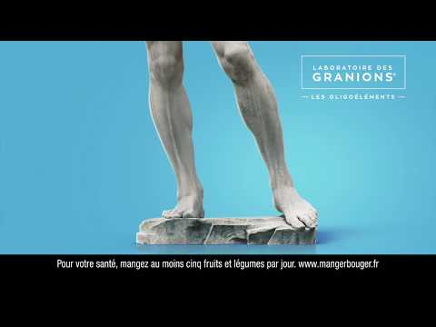 Vidéo Granions - Décontractant musculaire -Publicité 2018 - TV - Jacques Obadia