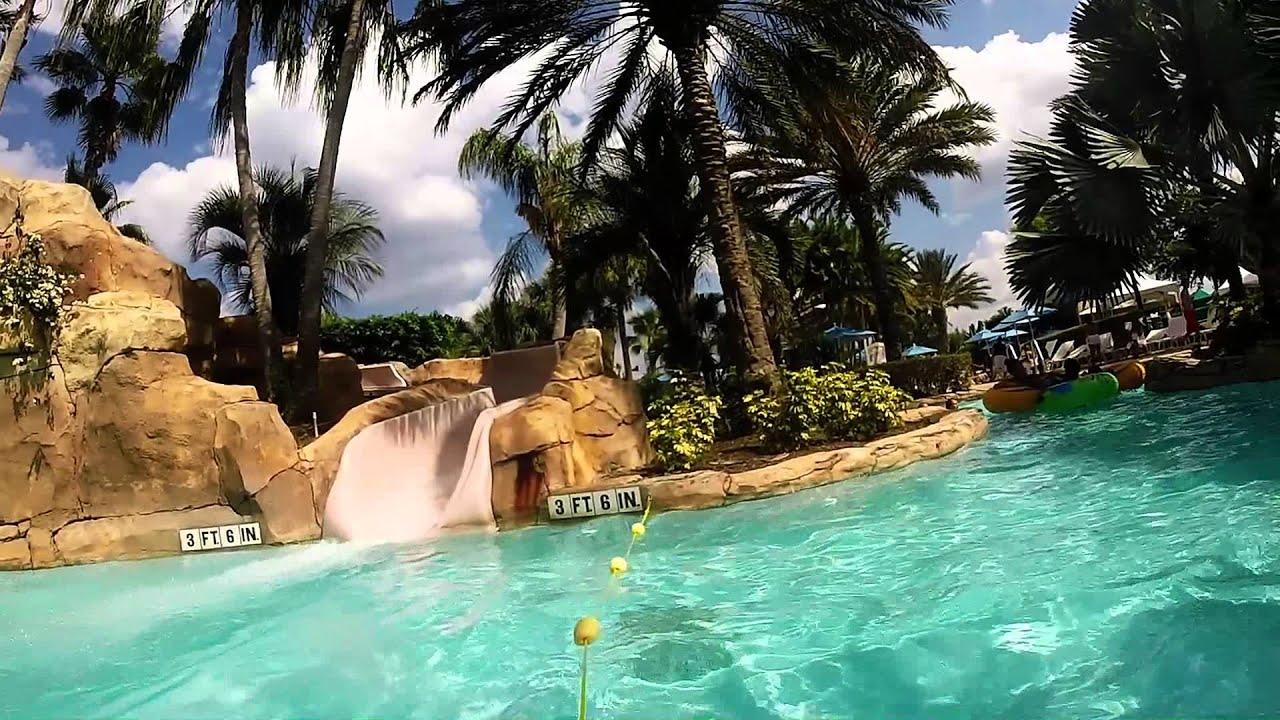 Wyndham reunion resort water park youtube