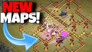 "IMPOSSIBLE NEW MAPS w/ HEROES ONLY!! ""Clash Of Clans"" (Part 1/3)"