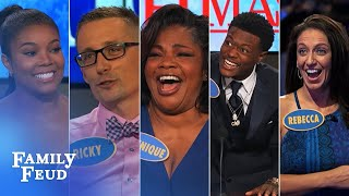 TOP 5 moments from OCTOBER 2016 | Family Feud