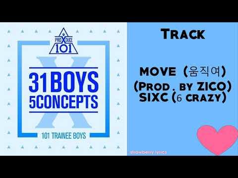MOVE (움직여) (Prod. By ZICO) – SIXC (6 Crazy)