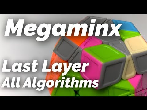 Megaminx Last Layer (All Cases and Algorithms)