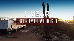 True cost of 1 year of full-time RV living