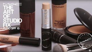 The Art of Studio Fix: Fluid Foundation SPF 15 | MAC Cosmetics