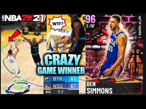 WILDEST MYTEAM NBA 2K21 GAME IN HISTORY | Sports Gaming |