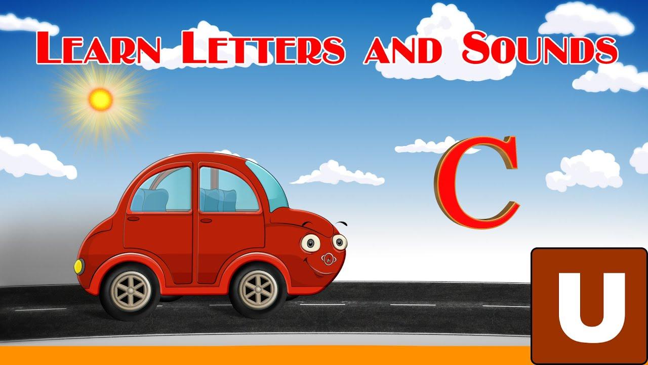 ABC Alphabet Learn Letter C Car Cow Caterpillar YouTube - C car