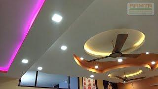 False Ceiling Design Bedroom & Hall Ramya Modular Kitchen