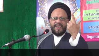 Maulana Syed Zaki Baqri Topic SPIRITUALITY IN THE SHADOW OF TECHNOLOGY