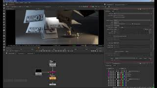 Maya, Redshift, Nuke Tutorial: Two usage of Depth AOV, ZDefocus and Mask