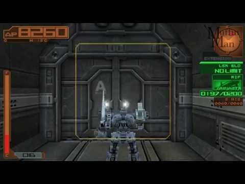 Armored Core Silent Line Portable PSP Gameplay HD