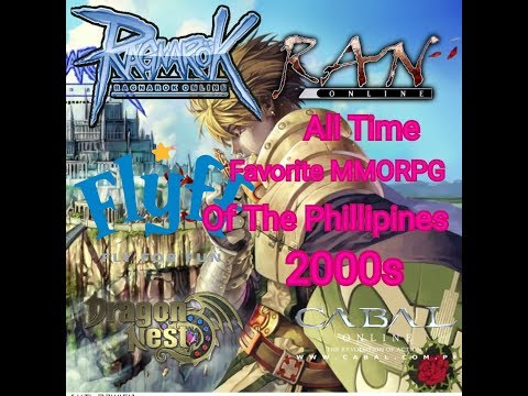 Top 5 All-Time Favorite MMORPG's In Phillipines [Online Games PC 2000s]