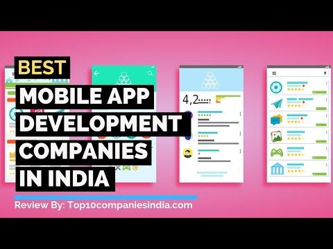 Top 10: Best Mobile App Development Companies In India 2019