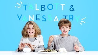 Talbott and Vanessa Try | Kids Try | HiHo Kids