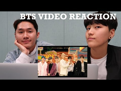 KOREAN BOYS react to BOY WITH LUV bts OFFICIAL MUSIC VIDEO
