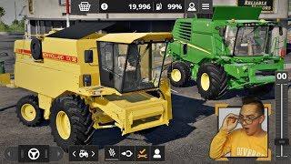 """Zmieniamy Kombajn [Nowy Nabytek] ☆ Farming Simulator 20 [FS20] ☆ """"od Zera do Milionera""""#6 ☆ Żniwa"""
