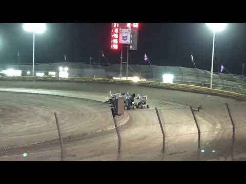 Lemoore Raceway Cal Cup 11/8/19 Jr Sprint Heat- Cash